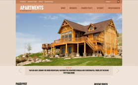 Apartments Free WordPress Theme