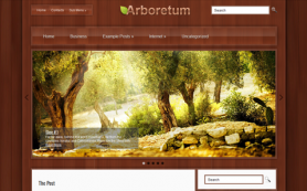 Arboretum Free WordPress Theme