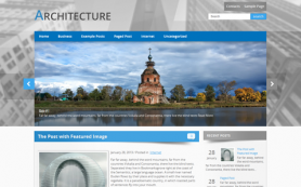 Architecture Free WordPress Theme