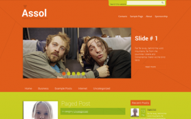 Assol Free WordPress Theme