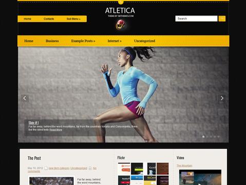 Atletica Free WordPress Theme