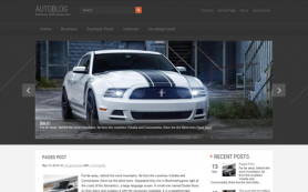 AutoBlog Free WordPress Theme