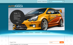 AutoMania Free WordPress Theme