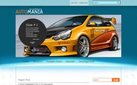 AutoMania Free WordPress Theme