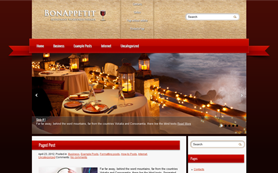 BonAppetit Free WordPress Theme