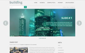 Building Free WordPress Theme