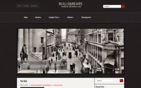 BullsAndBears Free WordPress Theme