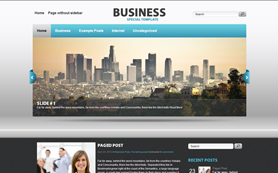 Business Free WordPress Theme