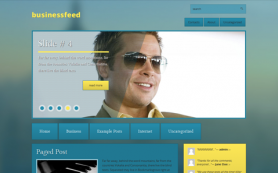 BusinessFeed Free WordPress Theme