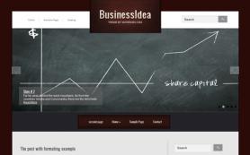 BusinessIdea Free WordPress Theme
