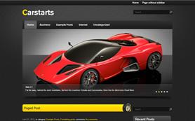 CarStarts Free WordPress Theme