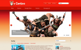 Cartoo Free WordPress Theme