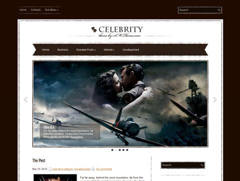 Celebrity Free WordPress Theme