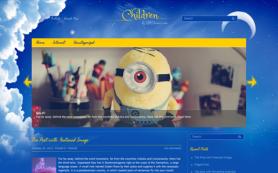 Children Free WordPress Theme