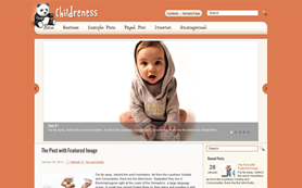 Childreness Free WordPress Theme