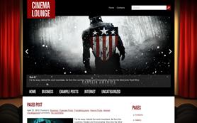 CinemaLounge Free WordPress Theme