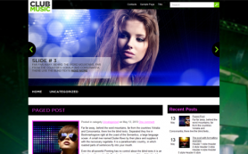 ClubMusic Free WordPress Theme