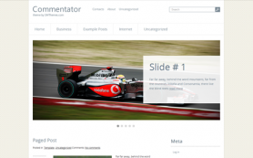 Commentator Free WordPress Theme