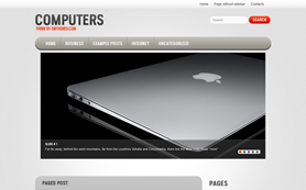 Computers Free WordPress Theme