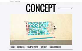 Concept Free WordPress Theme