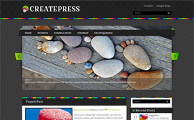 CreatePress Free WordPress Theme