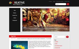 Creative Free WordPress Theme