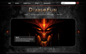 DiabloFun Free WordPress Theme