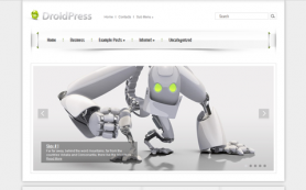 DroidPress Free WordPress Theme