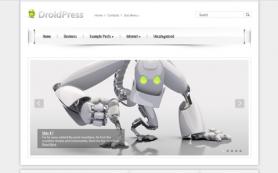 DroidPress Free WordPress Theme