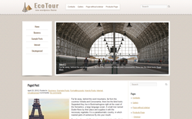 EcoTour Free WordPress Theme