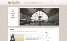 EcoTour Free WordPress Theme
