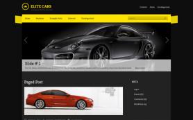 EliteCars Free WordPress Theme