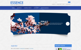 Essence Free WordPress Theme