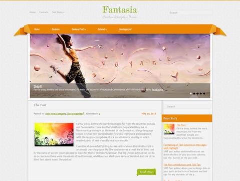 Fantasia Free Wordpress Theme