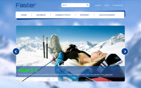 Faster Free WordPress Theme