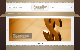 FinanceMag Free WordPress Theme