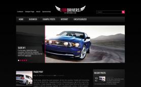 ForDrivers Free WordPress Theme