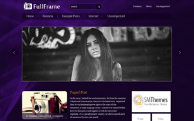 FullFrame Free WordPress Theme