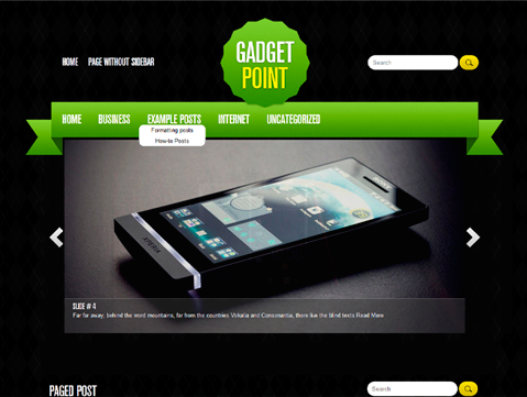 Wordpress Themes GadgetPoint