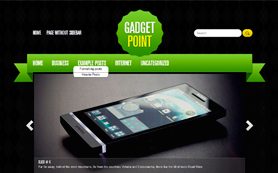 GadgetPoint Free WordPress Theme