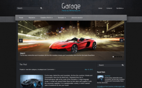 Garage Free WordPress Theme