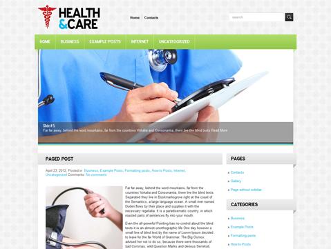 10 temas gratuitos de WordPress para webs de Medicina y Médicos ...