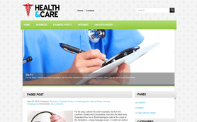 HealthCare Free WordPress Theme