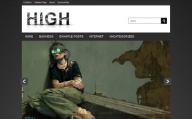 High Free WordPress Theme
