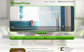 HomePress Free WordPress Theme