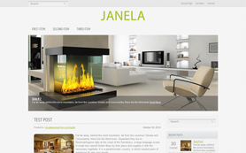 Janela Free WordPress Theme