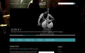 Jazz Free WordPress Theme