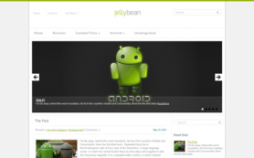 JellyBean Free WordPress Theme