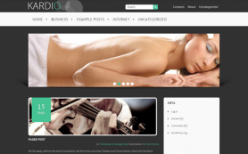 Kardio Free WordPress Theme