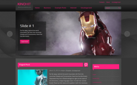 KinoHit Free WordPress Theme
